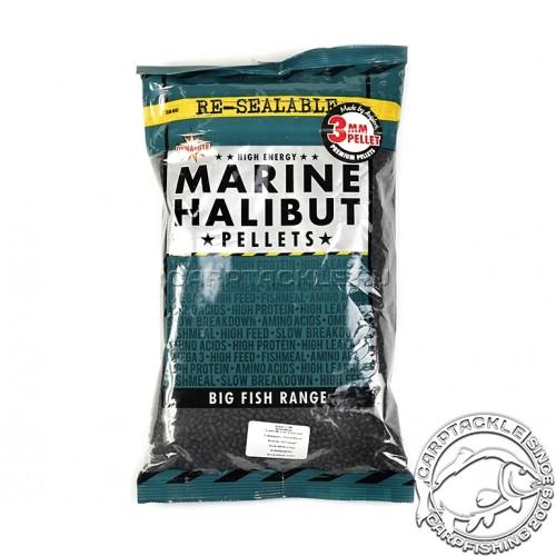 Пеллетс Marine Halibut Pellets 3mm 900g тонущий пеллетс Палтус