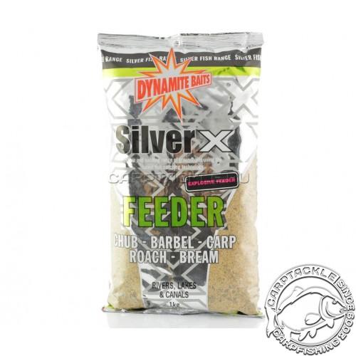 Прикормочная смесь Dynamite Baits Silver X Feeder Exlposive Mix 1kg