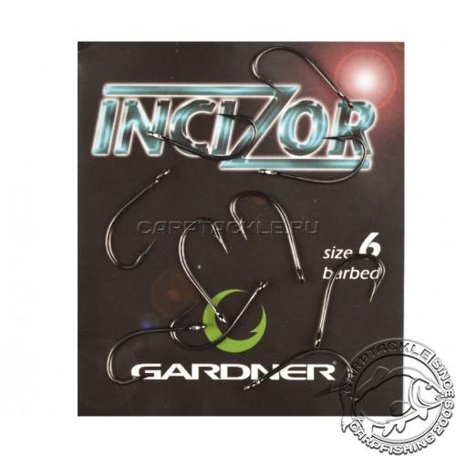 Крючки карповые размер №6 Gardner Incizor