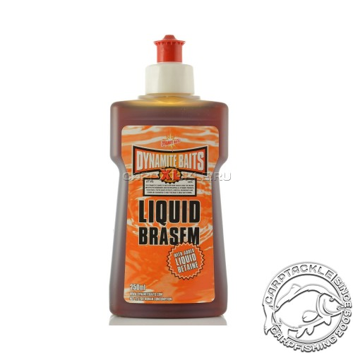 Аттрактант Dynamite Baits XL Liquid Brazem 250ml Ириска