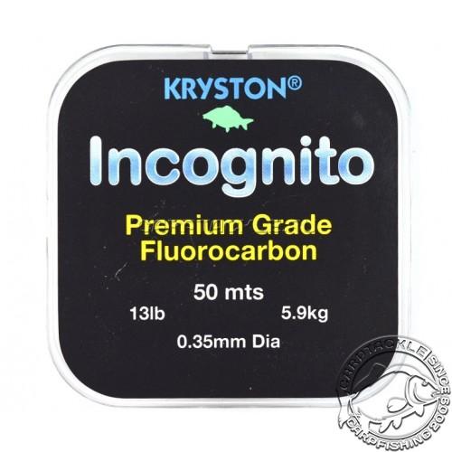 Поводковый ФК материал Kryston Incognito 0,35мм 13LB 50м