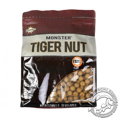 Тонущие бойлы 15мм Dynamite Baits Monster Tiger Nut 15mm 1kg Тигровый орех