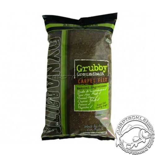Прикормочная смесь Dynamite Baits Grubby Groundbait Carpet Feed 2kg