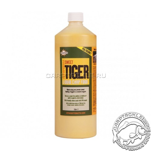 Аттрактант Dynamite Baits Sweet Tiger Nut Liquid Food 1liters