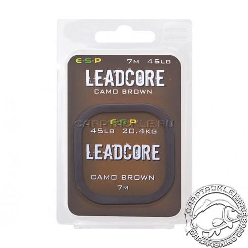 Ледкор ESP Leadcore 45lb 7m