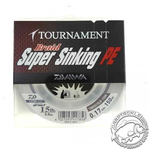 Шнур Daiwa Tournament Super Sinking Brown 150m 15lb 0.17