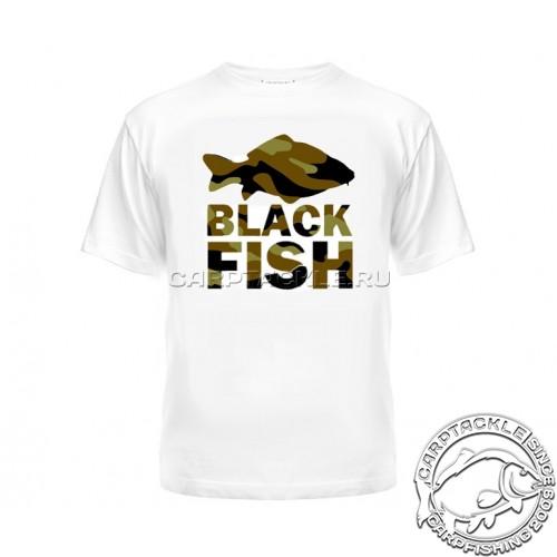 Футболка Black Fish T-Shirt White Camo L