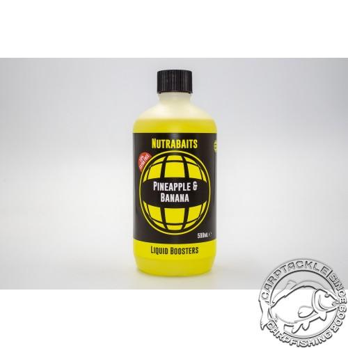 Аттрактант Nutrabaits Pineapple & Banana Liquid Boosrers 500ml