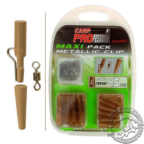 Набор безопасных клипс Fun Fishing Pack Metallic Clip