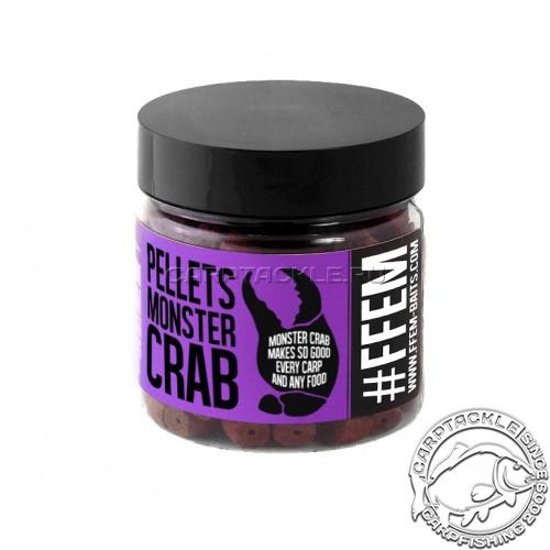 Насадочный пеллетс FFEM Hookbaits Pellets Monster Crab