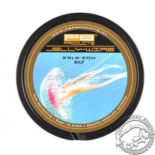 Поводковый материал PB Products Jelly Wire Silt 25lb 20m