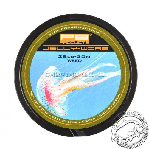 Поводковый материал PB Products Jelly Wire Weed 25lb 20m