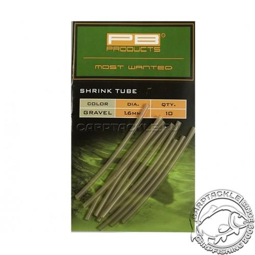 Трубка термоусадочная PB Products Shrink Tube Gravel 1,6mm 10 pcs