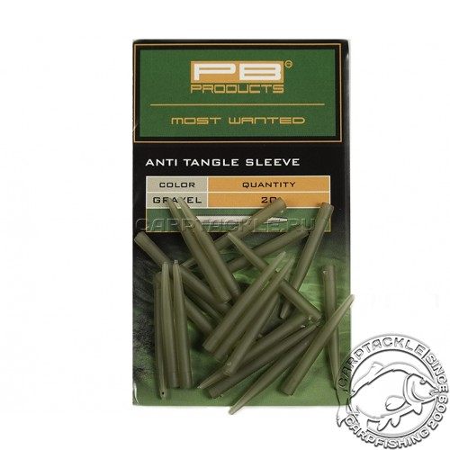 Конусный противозакручиватель PB Products Anti Tangle Sleeves Gravel 20pcs