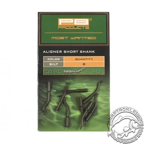 Изогнутая трубка для крючка PB Products Aligners Short Shank Silt 8pcs