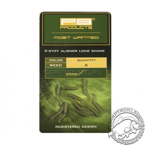 Изогнутая трубка для крючка PB Products Aligners Long Shank Weed 8pcs