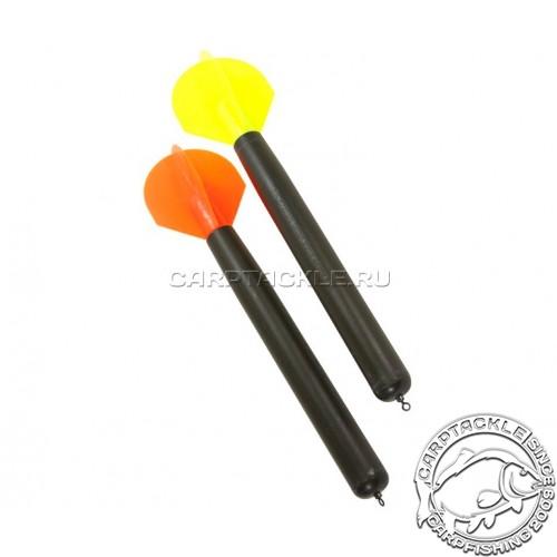 Маркер 2 шт с желтым и оранжевым оперениями Korda marker Float