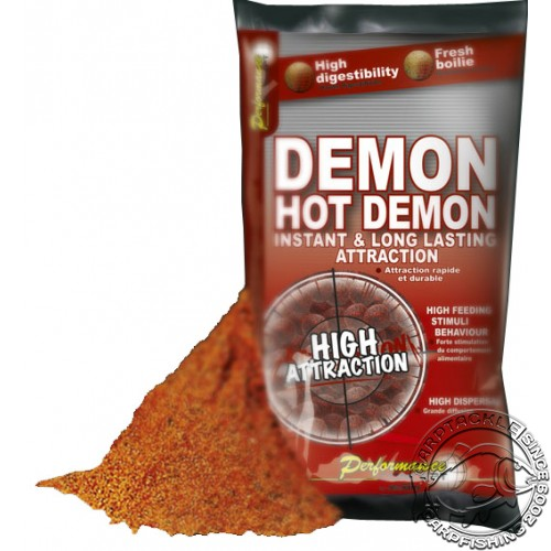Прикормочная смесь Starbaits METHOD HOT DEMON 2.5kg острые специи