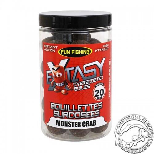 Насадочные бойлы Fun Fishing Extasy Monster Crab 15mm 240g