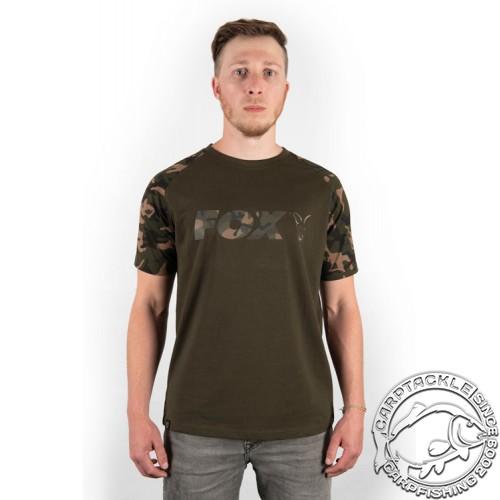 Футболка Fox Camo/Khaki Chest Print T-Shirt