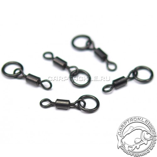 Вертлюг с кольцом Korda Ring Swivels 8 size11