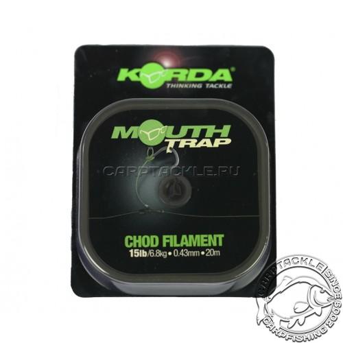 Поводковый материал Korda MOUTHTRAP 15lb 20m