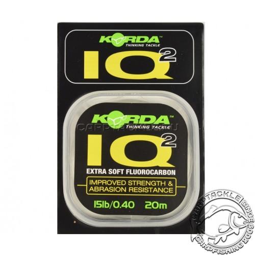 Поводковый материал Korda IQ2 Fluorocarbon 15lb 20m