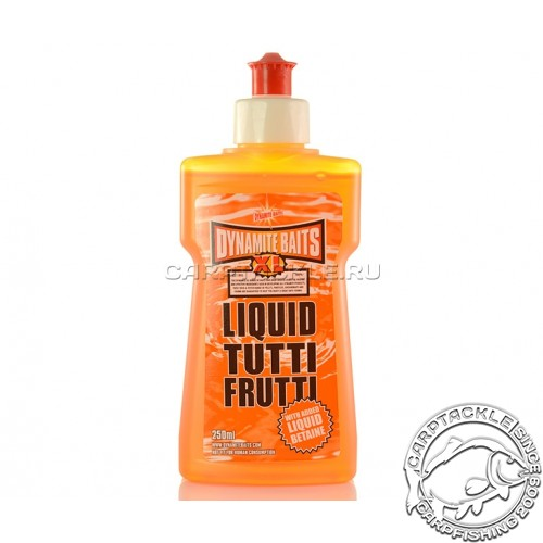 Аттрактант Dynamite Baits XL Tutty Fruity 250ml Тутти фрутти