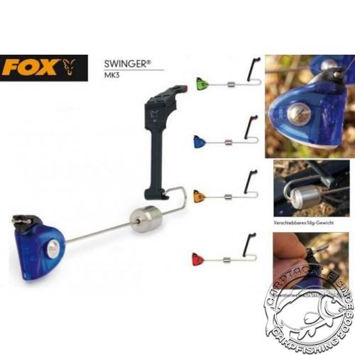 Механический сигнализатор поклевки Fox MK3 Swinger Amber