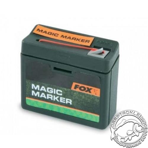 Маркерная нить оранжевая FOX Magic Marker 25m Orange