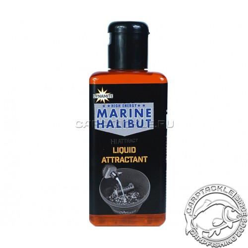 Аттрактант Dynamite Baits Marine Halibut 250ml Морской палтус