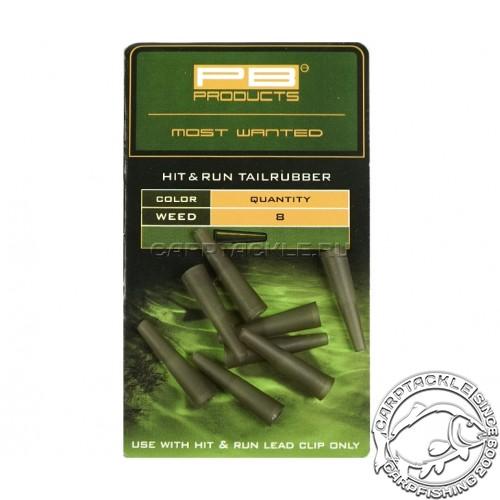 Конус для клипсы PB Products Hit&Run Tailrubbers Leadclip Weed 8шт