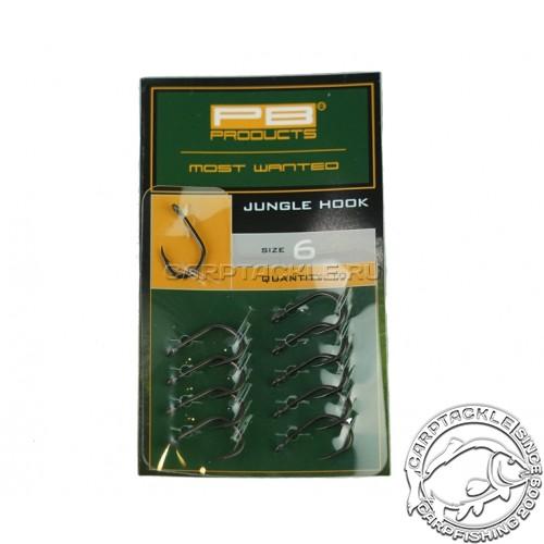 Крючки карповые PB Products Jungle Hook №6 DBF
