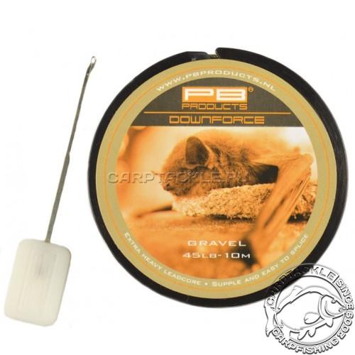 Ледкор PB PRODUCT DOWNFORCE LeadCore 45 lb, 10m Gravel