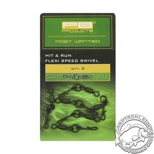 Вертлюг с кольцом и застёжкой H&R Run Flexi-Ring Speed №8 PB Products