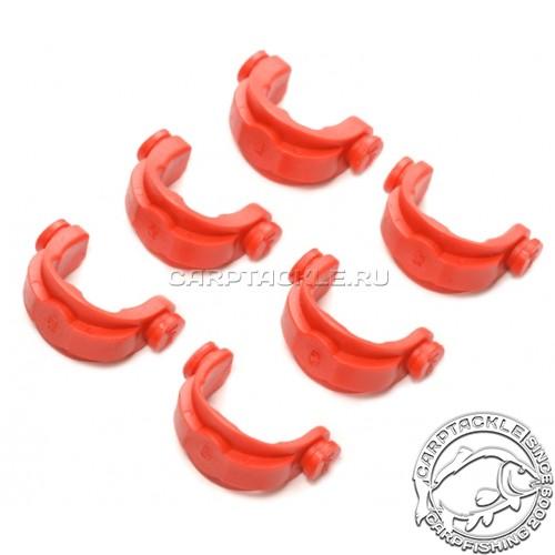 Противоскользящие вставки в задний держатель, под разный диаметр удилища в ком-те 6 шт красные Jag Small RED Inserts
