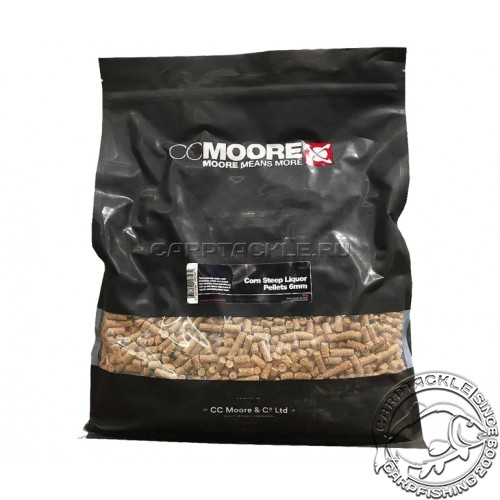 Пеллетс CCMoore Pellets Corn Steep Liquor 6mm 5kg пеллетс тонущий кукуруза