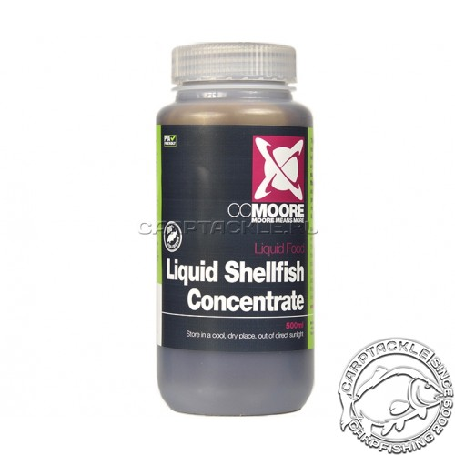 Ликвид CCMoore Liquid Shellfish Concentrate 500ml смесь экстрактов краба, устрицы, мидии и креветки