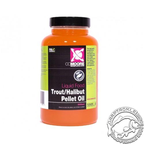 Ликвид CCMoore Trout-Halibut Oil 500ml масло Форели-Палтуса
