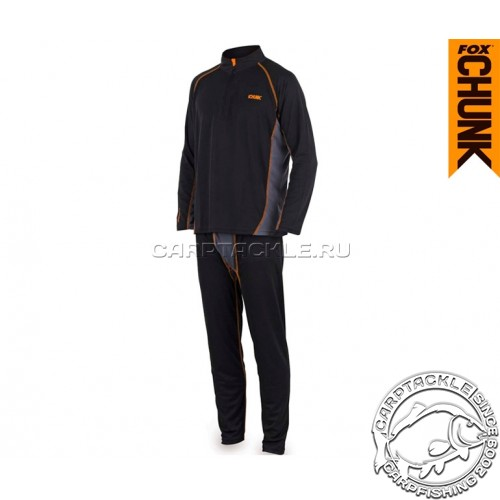 Термобелье FOX CHUNK™ Base Layer Black/Grey Medium