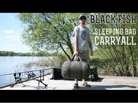 Black Fish Sleeping Bag Carryall Standard